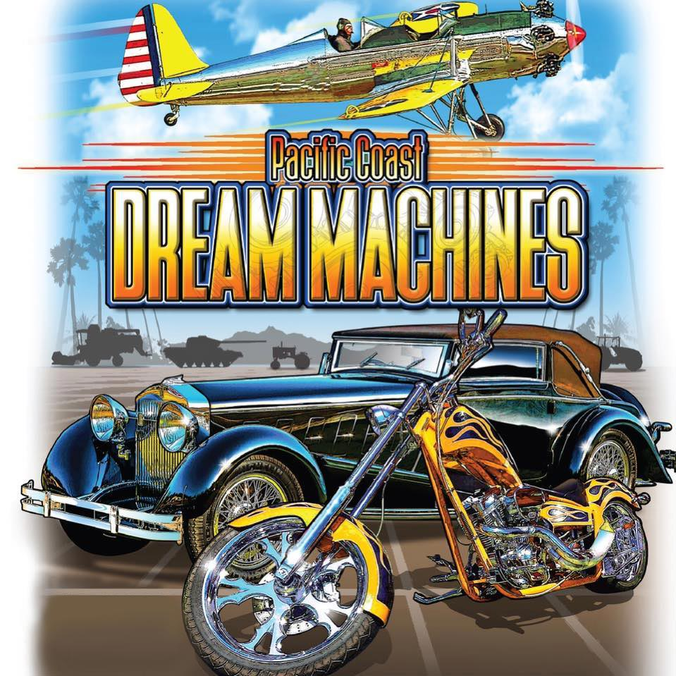 Pacific Coast Dream Machines, The Coolest Show on Earth, Half Moon Bay Airport